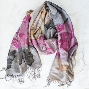 Pashmina Multi Colour Scarf NWT
